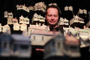 ohn Radford calls his suburb 'surreal estate'. Photo / Steven McNicholl