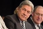 Winston Peters. Photo / Natalie Slade