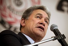 New Zealand First Party leader Winston Peters. Photo /  Natalie Slade