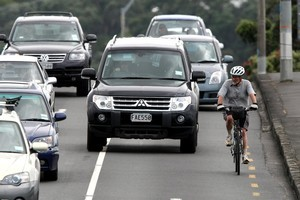 Tamaki Drive is a renowned black spot for road accidents involving cyclists. Photo / Dean Purcell