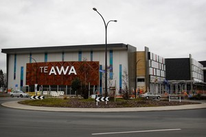 Te Awa at The Base shopping complex Te Rapa, Hamilton. Photo / Christine Cornege