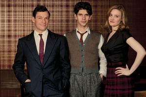 The Hour looks fantastic but falls down with its three central characters, played by Dominic West, Ben Whishaw and Romola Garai, who are really just archetypes. Photo / Supplied