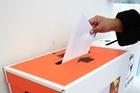 Election. Photo / Martin Sykes.