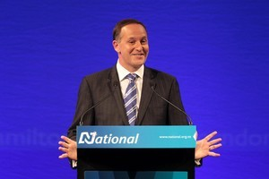 Prime Minister John Key says further welfare reforms will prevent people from getting a 'a free ride'. Photo / Greg Bowker