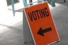 Election. Photo / Michael Cunningham