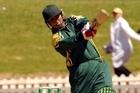 Pakistan's Azhar Mahmood. Photo / NZPA