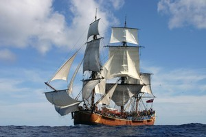 The replica Endeavour. Photo / Supplied