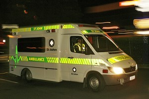 An off-duty policeman was rushed to hospital after he was assaulted, robbed and left for dead. File photo / NZ Herald