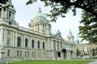 Belfast's grand and historical City Hall. Photo / Britain on View