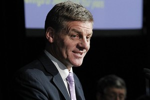 Bill English has admitted the income gap hasn't closed over National's three-year term. Photo / Mark Mitchell