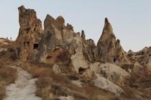 The distinctive rock formations of Goreme in Turkey's Cappadocia region have been inhabited for centuries. Photo / Mauricio Olmedo-Perez