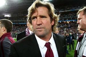 Sacked Manly coach Des Hasler will join the Bulldogs a season earlier than expected. Photo / Getty Images