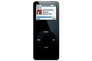 The first-generation iPod nano released in 2005. Photo / Supplied