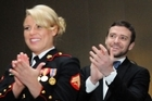 Justin Timberlake attends the Marine Corps Ball in Richmond. Photo / www.justintimberlake.com