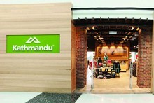 One of Kathmandu's new re-branded stores. The company told shareholders today that sales were up 16pc in the past 15 weeks, but the half year result will be dependent on Xmas and new year trading. Photo / Supplied