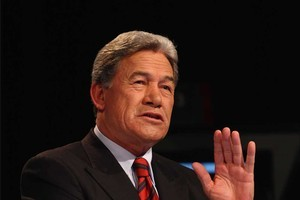Winston Peters. Photo / Supplied