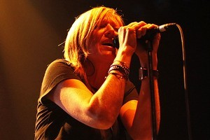 Beth Gibbons performs with Portishead at Vector Arena in Auckland. Photo / Amos Chapple