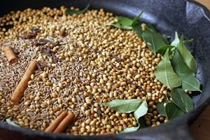 Sri Lankan curry powder. Photo / Janna Dixon