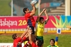 Chilean rugby is improving. This year they beat Brazil, Paraguay and Uruguay. Photo / Getty Images