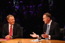 John Key and Phil Goff played fiscal jujitsu. Photo / Getty Images