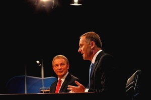 Phil Goff and John Key. Photo / Getty Images