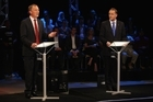 Phil Goff (left) has kept the pressure on John Key. Photo / Getty Images