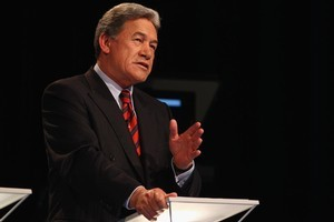 NZ First Leader Winston Peters. Photo / Getty Images