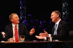 Final poll shows that John Key is in, with a twist. Photo / Getty Images