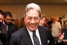 Leader of New Zealand First Winston Peters. Photo / Getty Images