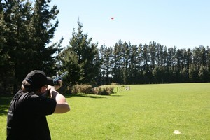 A Canterbury high country station is perfect for  simulated field shooting. Photo / Geoff Thomas