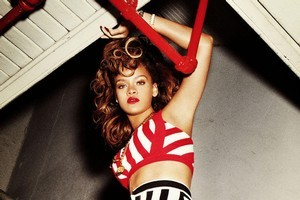 Rihanna's sixth album Talk That Talk is a diverse and dancey cracker. Photo / Supplied