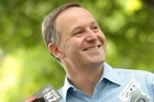 John Key says re-elected NZ First 'could bring Govt down at every vote'. Photo / Richard Robinson
