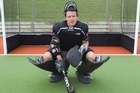 Black Sticks goalkeeper Kyle Pontifex has some lofty ambitions before he leaves the game. Photo / Paul Estcourt