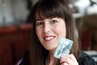Victoria Rowe has had a chip credit card since 2008. Photo / Doug Sherring