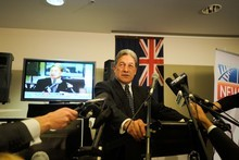 Winston Peters was a big winner on 2011 election night. Photo / Jason Dorday 