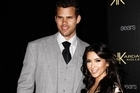 TV personality Kim Kardashian and NBA basketball player Kris Humphries. Photo / AP