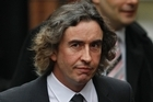 British actor Steve Coogan arrives to testify at the Leveson inquiry at the Royal Courts of Justice in central London. Photo / AP