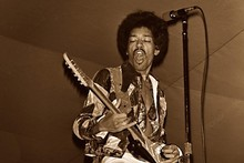Jimi Hendrix. Photo / Supplied
