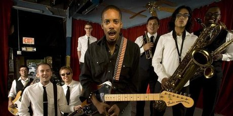 Black Joe Lewis and the Honey Bears. Photo / Supplied
