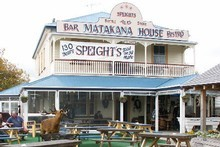 Service may be slow at the Matakana House pub. Photo / Supplied