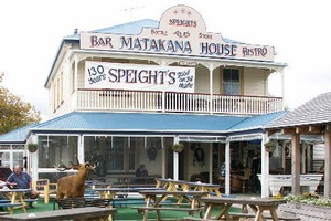 Service may be slow at the Matakana House pub. Photo / Supplied