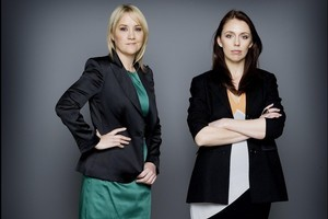 Nikki Kaye (left) and Jacinda Ardern fought for the Auckland Central seat which was won by Kaye. Photo / Supplied