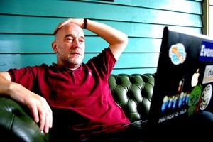 Adrian Sherwood was a key figure in the British reggae scene during the 80s. Photo / Supplied
