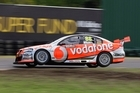 Jamie Whincup has a 188-point buffer over his teammate Craig Lowndes. Photo / Mark Horsburgh, Edge Photographics
