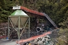 The entrance to the Pike River Coal mine. Photo / Simon Baker