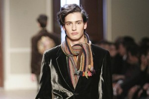 Modelling pieces by British fashion designer Sir Paul Smith. Photo / Supplied