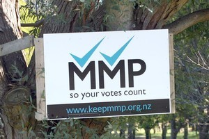 Opinion polls have consistently shown a preference for keeping MMP, with first past the post the most popular alternative system. Photo / APN