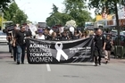 White Ribbon Day march in Masterton last year. Photo / APN