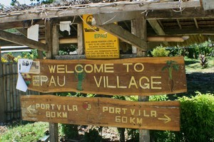 The village of Epau, where the alleged incidents took place. Photo / Supplied