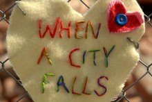 When a City Falls, a documentary which focuses on the human side of tragedy. Photo / Supplied